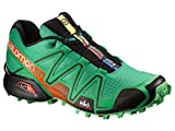 Salomon Speedcross 3 Trail Laufschuhe Real Green-Tomato Red-Black - 40 2/3