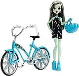 Monster High - Boltin' Bicycle Frankie Stein Puppe und Fahrrad