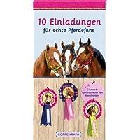 Coppenrath 92873 Einlad.Karten: 10 Einladungen für echte Pferdefans Pferdefr.