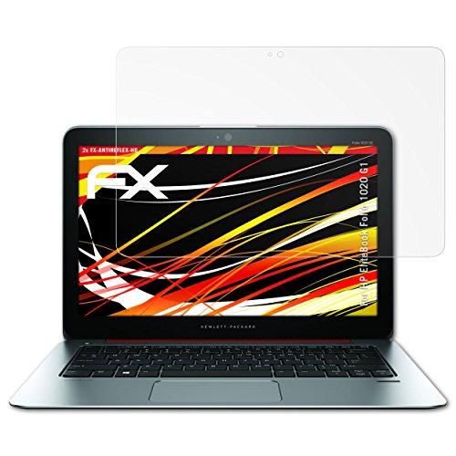 atFolix Schutzfolie kompatibel mit HP EliteBook Folio 1020 G1 Bildschirmschutzfolie, HD-Entspiegelung FX Folie (2X)