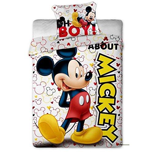 MICKEY Parure couette enfant - 1 housse couette 140x200