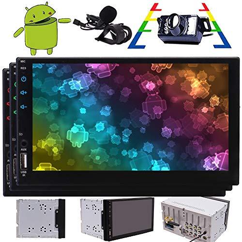 utoradio-Stereo in Schlag-Doppelt-Lärm-7inch Touch Screen Car Multimedia Stereo für Universal KFZ-Unterstützungs-GPS-Navigations-FM/AM/RDS Autoradio Bluetooth Spiegel Link ()