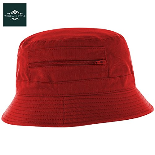 atlaua-chapeau-bob-en-coton-by-work-and-style-rouge-56-cm