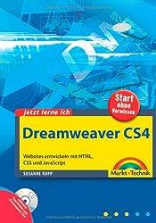 Jetzt lerne ich Dreamweaver CS4: Websites entwickeln mit HTML, CSS und JavaScript
