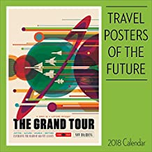 Travel Posters of the Future 2018 Calendar