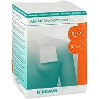 Askina 9031324 Verbände, 8-fach, unsteril 10 cm x 10 cm (100-er pack) preisvergleich bei billige-tabletten.eu