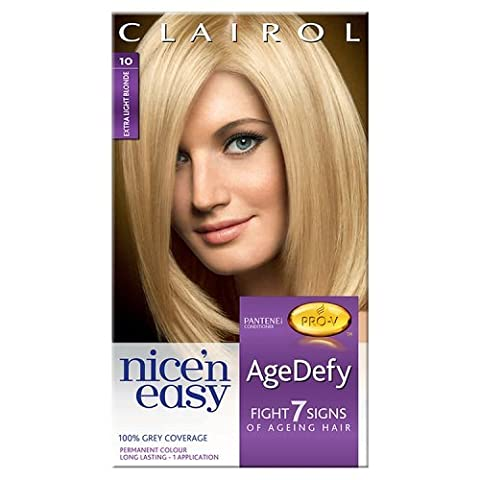 Nice'n Easy AgeDefy Permanent Hair Colour - Extra Light Blonde