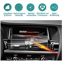 RUIYA Protector de pantalla de vidrio templado (2010-2017) BMW X3 (F25