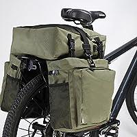 Strapazierf/ähig Mit Reflektierendem Klettverschluss,Fahrradtaschen Wasserdicht Gep/äcktr/äger KuanDar Sport Fahrradtaschen Gep/äcktr/äger Wasserdicht