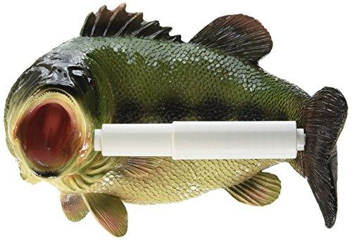 r - Reeling Forelle Fisch Rustikales Badezimmer-Dekor - Toilettenpapier-Rolle - Badezimmer-Wand-Dekor ()