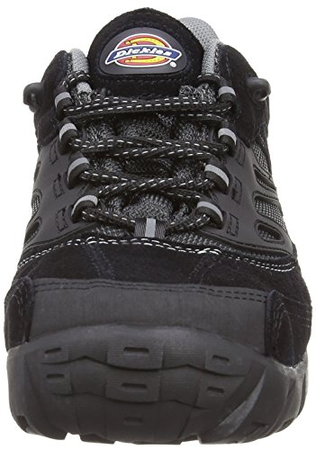 Dickies FD9200 BK 6 Dalton Chaussures de sécurité S1-P Taille 40 Noir Noir