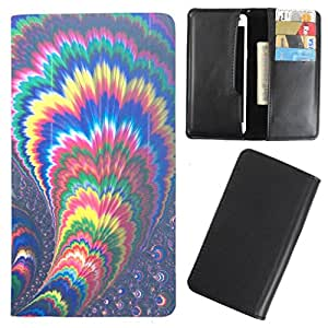 DooDa - For Gionee Marathon M5 lite PU Leather Designer Fashionable Fancy Case Cover Pouch With Card & Cash Slots & Smooth Inner Velvet
