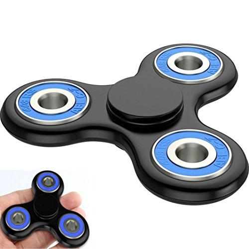 Preisvergleich Produktbild Saingace Fidget Spinner Neu Die Anti-Angst 360 Spinner hilft Fokussierung Fidget Toy 3D Figit Kids Erwachsene