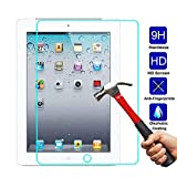 ESR Protection Ecran pour iPad 2018/2017 [Gabarit de Pose Inclu], Film en Verre Trempé 0.3mm 9H Ultra Résistant pour Apple iPad 2018 / iPad 2017 / iPad Air 2 / iPad Pro 9.7 / iPad Air