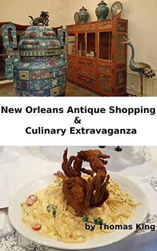 New Orleans Antique Shopping, Culinary Extravaganza & Guide to the French Quarter (Tom's Travels Book 1) (English Edition)