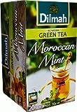 Dilmah Green Tea Moroccan Mint 20 Teebeutel (Einzeln verpackt)