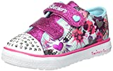Skechers Mädchen Winkle Breeze Pop Tastic Low-Top, Türkis (Tqhp Turquoise), 23 EU