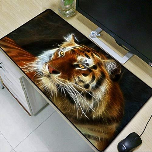 76c738a87b8ae cmhai Tiger Animal Mouse Pad con Borde de Bloqueo 900x400 Tiger Mouse Mat  Pad para CSGO Dota LOL Gaming Mouse Pad
