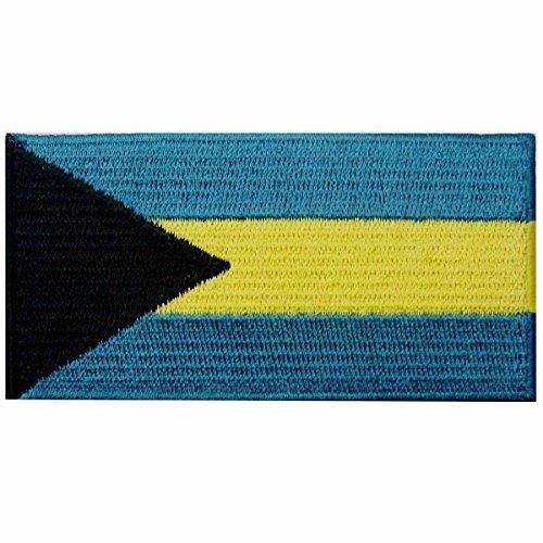 Kostüm Mann Insel - Bahamas Flagge Fahne gestickte Emblem Bahama-Inseln Eisen auf Sew auf National Patch