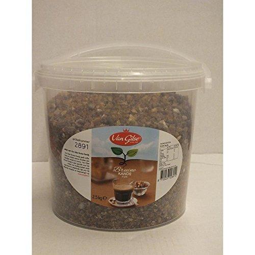 Van Gilse Kandis-Zucker fein braun, 2,5kg Eimer (Bruine Kandij Fijn)
