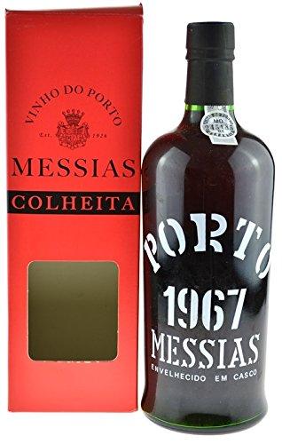 Rarität: Port Messias Colheita 0,75l Jahrgang 1967 mit Geschenkpackung - Portwein