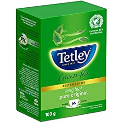 Tetley Long Leaf Green Tea, 100g