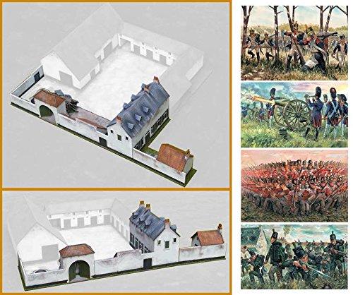 Italeri 510006111 - 1:72 Battle at La Haye Sainte, Zubehör