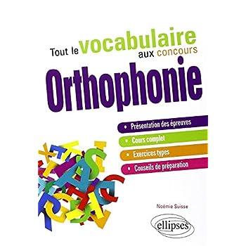 Tout le Vocabulaire aux Concours Orthophonie
