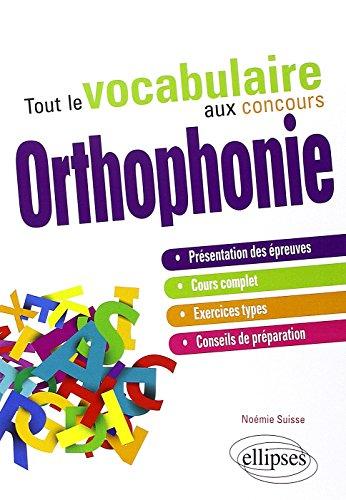 Tout le Vocabulaire aux Concours Orthophonie par Noémie Suisse