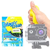 DURAGADGET Gel di Pulizia per Action Camera Monster Cam | FUDISI Tech | IXROAD | F68 | Apeman A65