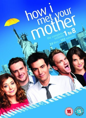 How I Met Your Mother – Staffel 1-8 [DVD] [UK-Import]