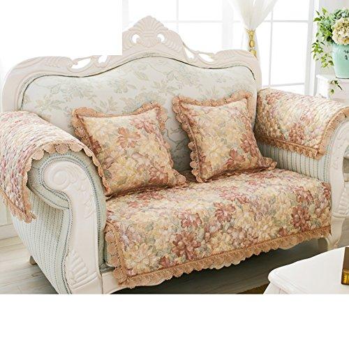 Baumwoll- Und Leinen-sofa-handtuch/Sofa Im Europäischen Stil/Modernes Sofa-handtuch/Allgemeine Sofa Handtuch/Vier Jahreszeiten Anti-rutsch-leder-sofa Handtuch-D 90x240cm(35x94inch)