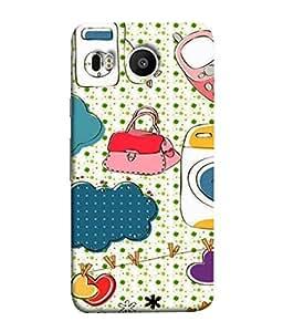 PrintVisa Designer Back Case Cover for LG Nexus 5X :: LG Google Nexus 5X New (Love Cellphone Shirt Dotted Cute Texture )