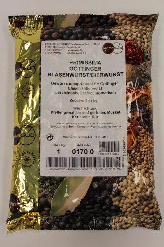 Hagesüd Primissima Göttinger, Blasenwurst, Bierwurst 1kg Gewürzaromapräparat