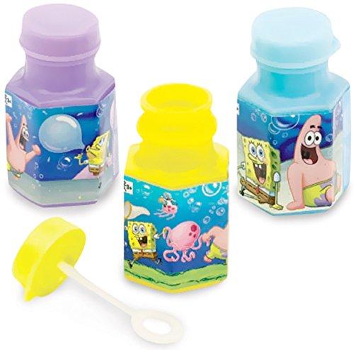Party, die Sie Spongebob Classic Mini Bubble Favor Zählen, Sponge Bob