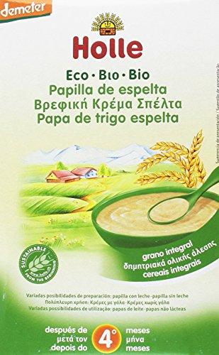 Holle Papilla Espelta +4 meses - Paquete 6 x 250 gr
