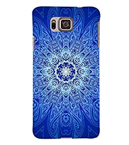 PRINTSWAG RANGOLI ART Designer Back Cover Case for SAMSUNG GALAXY ALPHA