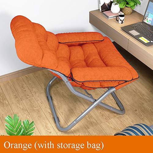 YWZDY Liegen Klappstuhl zu Hause im Freien großen Erwachsenen Liege/Sonnenliege/Lazy Chair/Lounge Chair/Sessel (Color : A) (2. Auflage Gesundheit Bild)