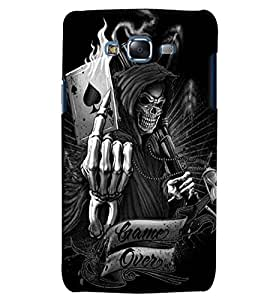 Citydreamz Game Over/Skeleton/Spades Ace/Cards Game Hard Polycarbonate Designer Back Case Cover For Samsung Galaxy J2 2016 Edition