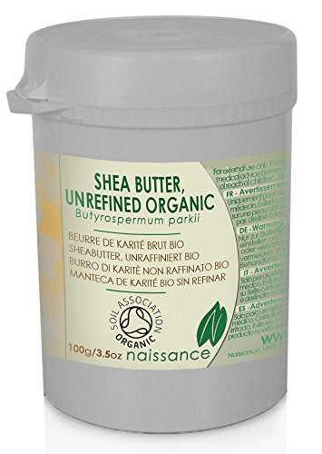 Bio Sheabutter, unraffiniert - 100% rein - Organisch zertifiziert - 100g