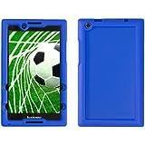 Bobj for Lenovo Tab 2 A8-50, A8-50F, also fits Lenovo Tab 3 TB3-850F, TB3-850M - BobjGear Protective Tablet Cover (Batfish Blue)