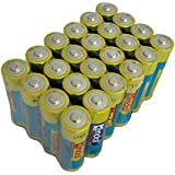 KENDAL AA Alkaline Batteries Industrial 1.5V LR6 EN91 AM3 MN1500 Replace To R6P (24 Count)