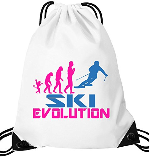 EZYshirt® Ski Evolution Turnbeutel (Evolution Hose Snowboard)