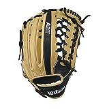 WILSON 2017A2K KP92Gant de Baseball, WTA2KRB17KP92, Blond/Noir, 32 cm