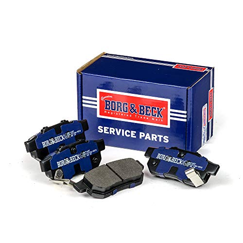 Borg & Beck BBP1657 Kit pastiglie Freno