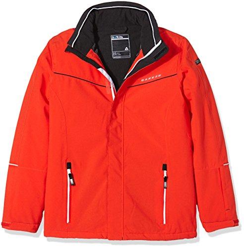 Dare 2b Exclaim-Chaqueta de esquí infantil Fiery Red, otoño/invierno, color Rojo - rot - Feuerrot, tamaño 11 - 12 Years