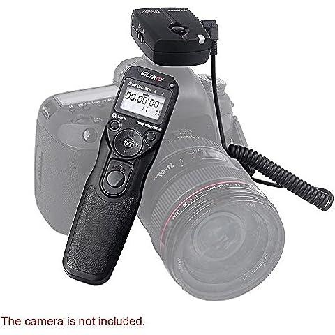 Viltrox Temporizador automático inalámbrico disparador remoto controlador Conjunto Lapso de tiempo Intervalómetro temporizador para Nikon D4s D810 D810A D800 D800E D700 D300 D200 D3S D300S D3X D2