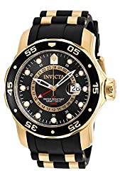 Invicta Pro Diver Men's Analogue Classic Quartz Watch With Polyurethane Strap – 6991
