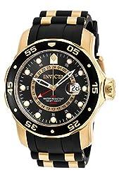 Invicta Pro Diver Men's Analogue Classic Quartz Watch With Polyurethane Strap – 6991