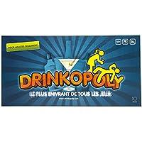 Drinkopoly - le Plus Enivrant de Tous les Jeux - le Roi de Jeux à Boire - Un Jeu de Plateau Pour les Adultes